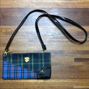 NWOT MAC Tartan Plaid Crossbody